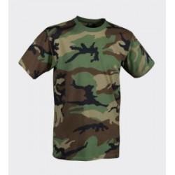 HELIKON T-shirt, WOODLAND, bawełna, koszulka